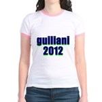 guiliani 2012 Jr. Ringer T-Shirt