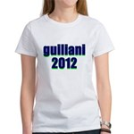 guiliani 2012 Women's T-Shirt