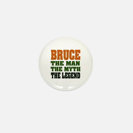 BRUCE - The Legend Mini Button