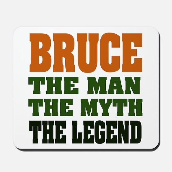 BRUCE - The Legend Mousepad