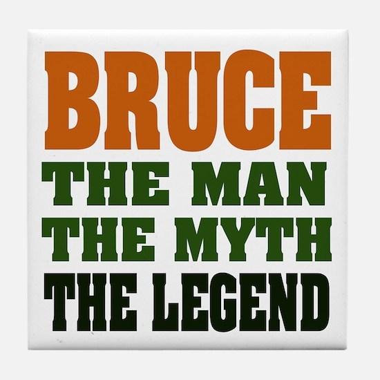 BRUCE - The Legend Tile Coaster