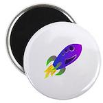 Rocket ship Magnet