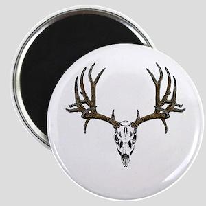 European mount mule deer Magnet
