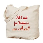 Axel for Christmas Tote Bag