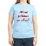 Axel for Christmas Women's Light T-Shirt