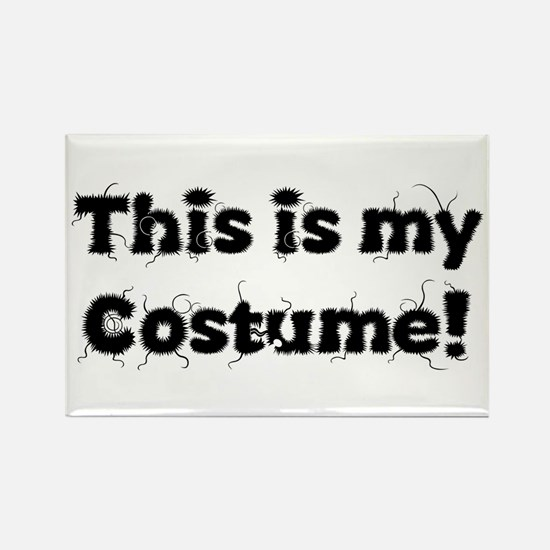 Cute Halloween outfit Rectangle Magnet