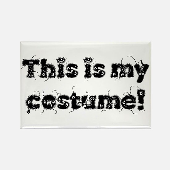 Unique Halloween outfit Rectangle Magnet
