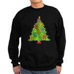 Alto/Tenor Clef Christmas Sweatshirt (dark)