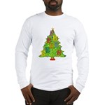 Alto/Tenor Clef Christmas Long Sleeve T-Shirt