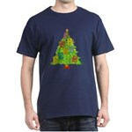 Alto/Tenor Clef Christmas Dark T-Shirt