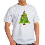 Alto/Tenor Clef Christmas Light T-Shirt