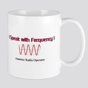 I Speak with Frequency-small Mug