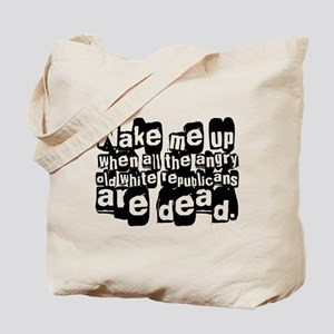Angry White Republicans Tote Bag
