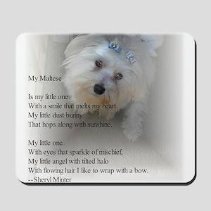 Maltese Poem Mousepad