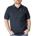 Prism Program Dark Polo Shirt