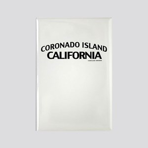Coronado Island Rectangle Magnet