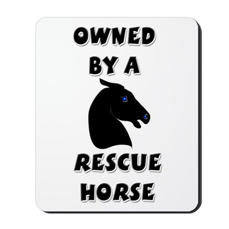 Rescue Horse Mousepad