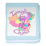 Tongling China baby blanket