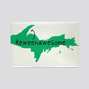 Keweenawesome Rectangle Magnet