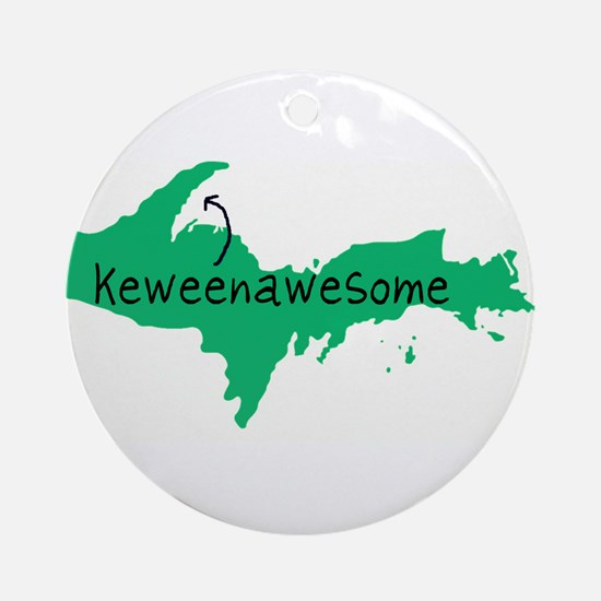 Keweenawesome Ornament (Round)