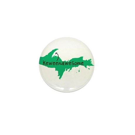 Keweenawesome Mini Button (10 pack)