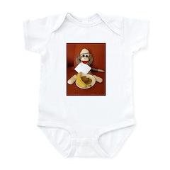 Ernie the Sock Monkey Infant Bodysuit