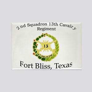 2nd Squadron 13th Cavalry Rectangle Magnet