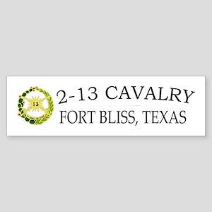 2nd Squadron 13th Cavalry Sticker (Bumper)