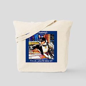 Basenji Tri It Tote Bag