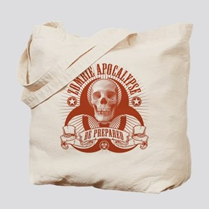 Zombie Apocalypse (halftone) Tote Bag