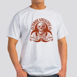 Zombie Apocalypse (halftone) Light T-Shirt
