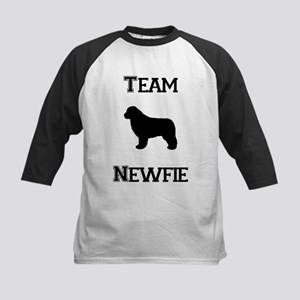 Newfoundland Team Newfie Dog Kids Baseball Jersey
