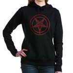 Sigil Of Baphomet Womens Hooded Sweatshirt
