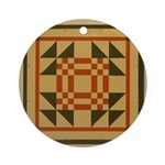 Young Man's Fancy Ornament (Round)