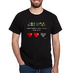 Video Games Ruined My Life Dark T-Shirt