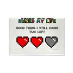 Video Games Ruined My Life Rectangle Magnet