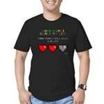 Video Games Ruined My Life Men's Fitted T-Shirt (d