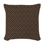 Lou Weed Woven Throw Pillow
