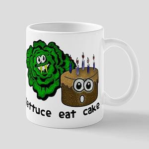 Lettuce Eat Cake - Mug