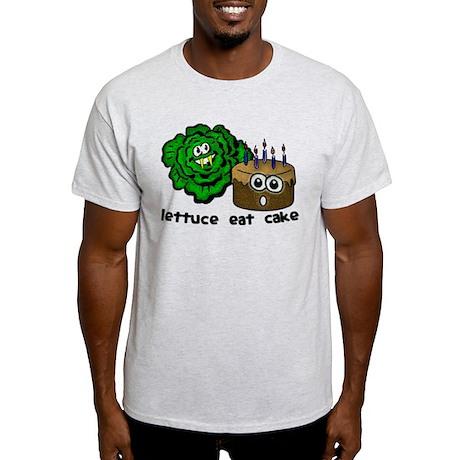 Lettuce Eat Cake - Light T-Shirt