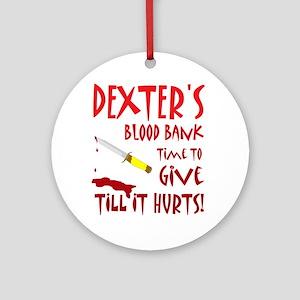 Dexter Ornament (Round)