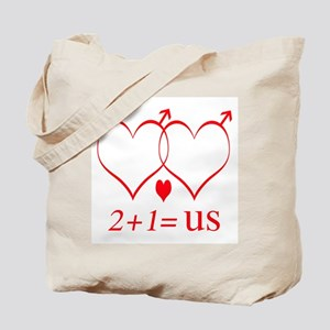 Same Sex Couple With Child Tote Bag