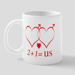 Same Sex Couple With Child Mug