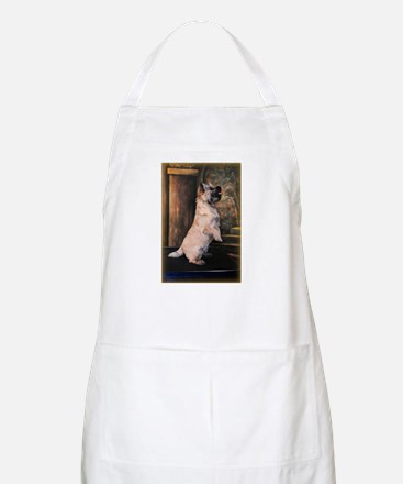"""Sitting Pretty"" Cairn Terrier Apron"