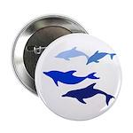 """Dolphin Logo Button (2.25"""")"""
