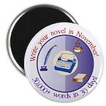 Write your novel in November! Magnet