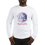 Write your novel in November! Long Sleeve T-Shirt