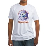Write your novel in November! Fitted T-Shirt