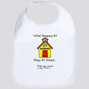 Mom School PTA Bib