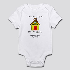 Mom School PTA Infant Bodysuit